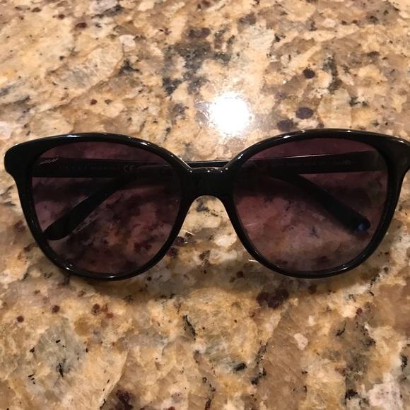843bbf9da8f Gucci Accessories - Gucci Glitter Frame Gradient Lens Sunglasses